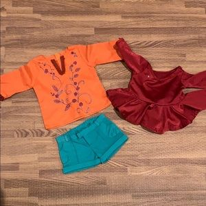 """3 piece 18"""" Doll Clothes"""